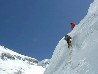 Mt Everest footage
